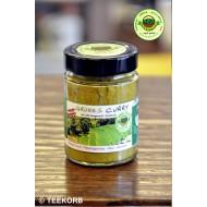 Grünes Curry mittelscharf