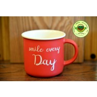 Porzellan Becher Smile every Day