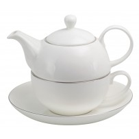 "Tea for one Set ""Platin"" 500ml"