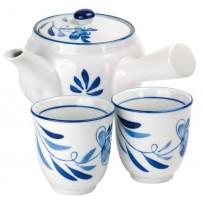"Teeset ""Fleur Bleu"""