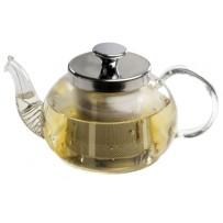 """Glas Teekanne """"Lale"""" 0,6 l mit Sieb"""