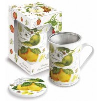 "Deckelbecher ""Lemon & Lime"" 300 ml"