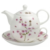 "Tea for one Set ""Kirschblüte"" 400ml"
