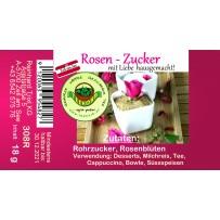Rosenzucker Rosen Zucker Röhrchen hausgemacht