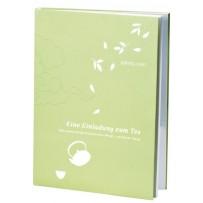 """Teebuch """"Einladung zum Tee"""" 75 Seiten"""