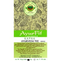 Ayurfit KAPHA  Kräutertee ohne Aroma