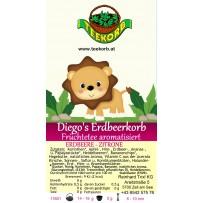 Diego's Erdbeerkorb Kinder Kindertee Tee Kräutertee Früchtetee aromatisiert