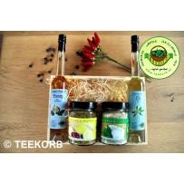 Weihnachtsgeschenk  Genießer-Box Essig & Öl