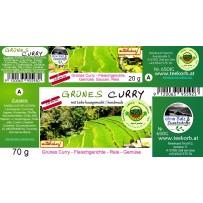 Grünes Curry mittelscharf klein