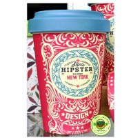 "Bamboo To-Go Cup ""Original Hipster"" 400ml"