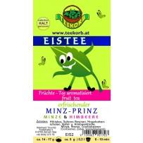 Minz-Prinz Eistee Kräutertee mit Früchten Eis Tee Minz Prinz