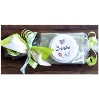 Give away Hochzeit Mitbringsel Giveaway Geschenk Seife
