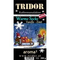 Weihnachtskaffee  Warme Socke - Vanille-Zimt, 250g