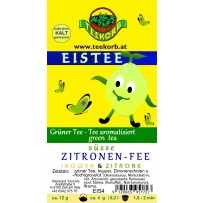 süße Zitronen-Fee EISTEE Zitronen Fee Eis Tee